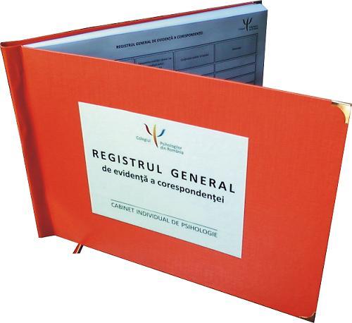Registre cabinet individual de psihologie