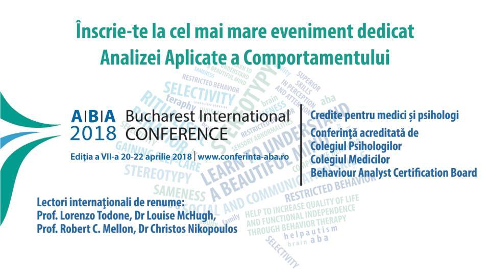 Conferința Internațională ABA 2018