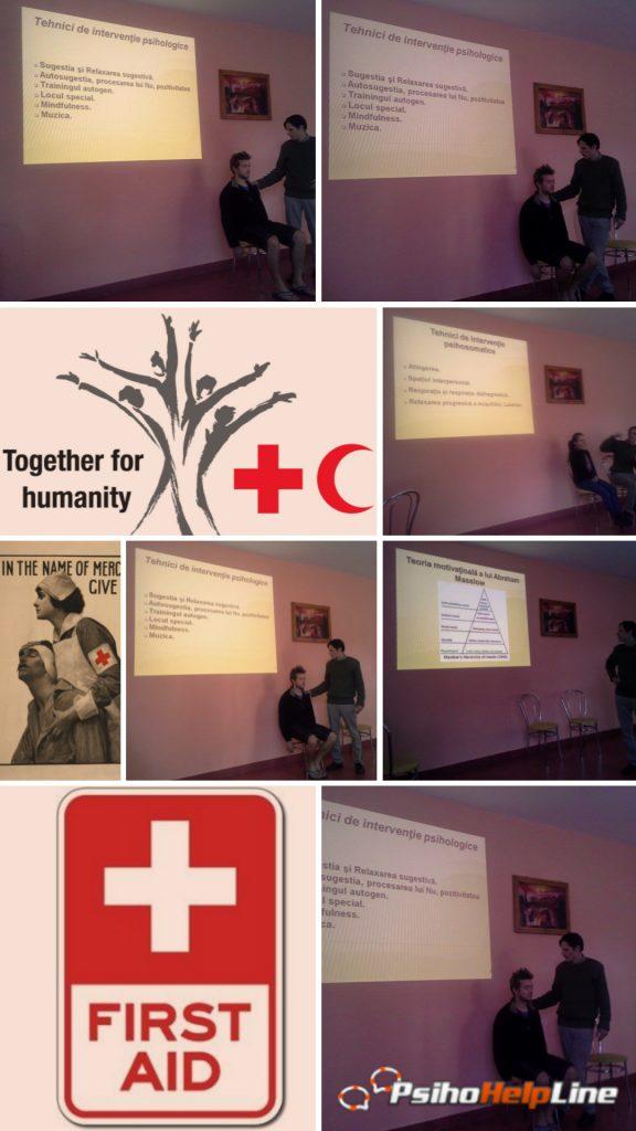 Workshop: Primul ajutor psihologic în situații traumatizante